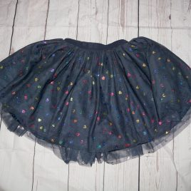H&M navy hearts tulle skirt 2-3 years