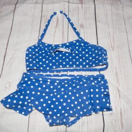 Boden blue spotty bikini 2-3 years
