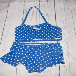 Boden blue spotty bikini 2-3 years