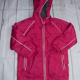 Pink waterproof jacket 3-4 years