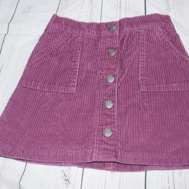 Burgandy cord skirt 3-4 years