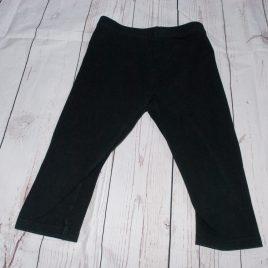 Black cropped leggings 4-5 years
