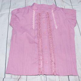 Pink short sleeved shirt 4-5 years