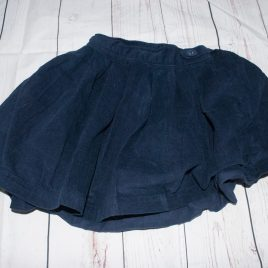 Jojo Maman Bebe navy cord skirt 3-4 years