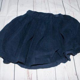 Jojo Maman Bebe navy cord skirt 3-4 years