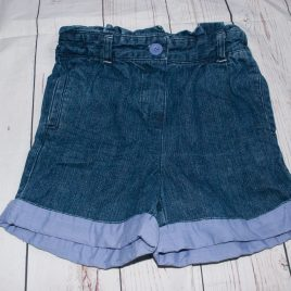 Denim shorts 3-4 years