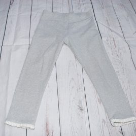 Next silver sparkly leggings 3-4 years