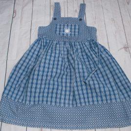 Vintage M&S blue dress 3-4 years