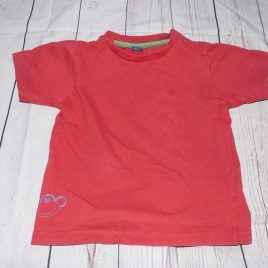 Orange/red  t-shirt 2-3 years