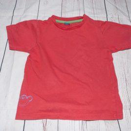 Orange/red  t-shirt 2-3 years