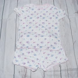 Flowers short pj's 2-3 years
