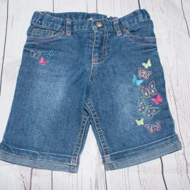 Denim butterfly shorts 3 years