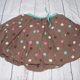Boden brown spotty skirt 3-4 years