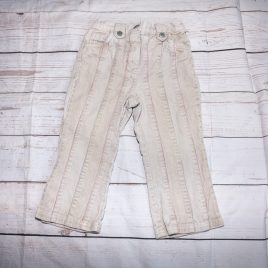 Next beige cord trousers 12-18 months