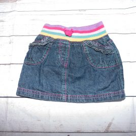 Denim skirt 12-18 months