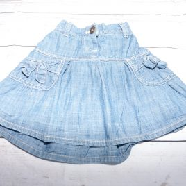 Next denim style skirt 18-24 months