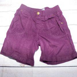 GAP purple cord shorts 3 years
