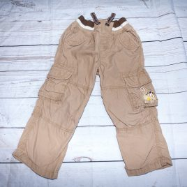 Brown cargo trousers 2-3 years