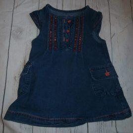 Denim dress 12-18 months