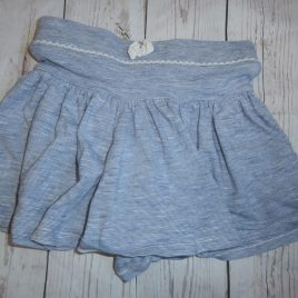 Blue stripy skort 4-5 years