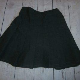 M&S pleated grey school skirt 4-5 years