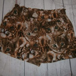 H&M cat shorts 4-6 years