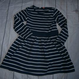 John Lewis navy stripy dress 4 years