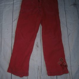 Pumpkin Patch pink cord trousers 4 years