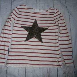 Gap colour change sequin star top 4-5 years