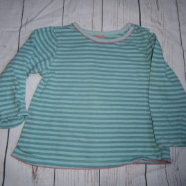 Green stripy top 12-18 months