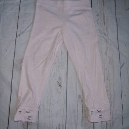 Pink bunny leggings 12-18 months