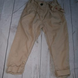 Next stone trousers 12-18 months