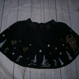 Navy cord princess palace skirt 5 years