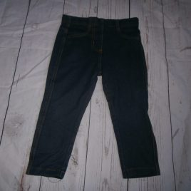 Next navy jeggings 12-18 months