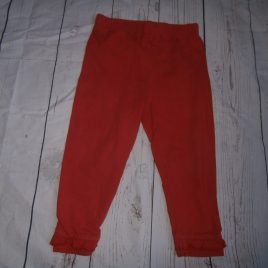 Red leggings 12-18 months