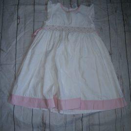 White & pink dress 4-5 years