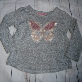 Butterfly sequin top 12-18 months