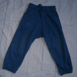 Next blue jogging trousers 18-24 months