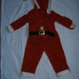 Christmas Santa outfit 1-2 years