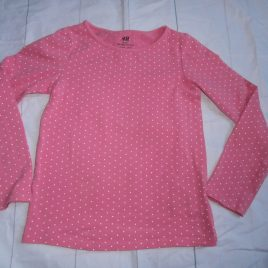 Pink spotty top 4-6 years