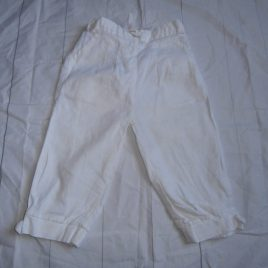 White Linen trousers 4-5 years