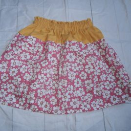 Handmade flowers skirt 4-5 years