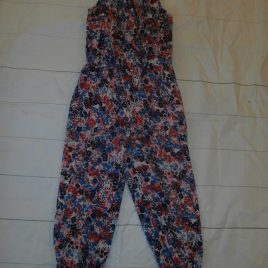 Flowers playsuit 4-5 years