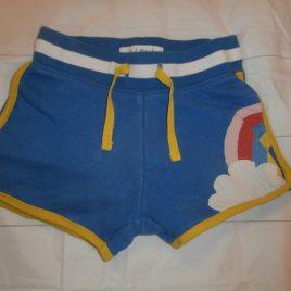 Boden rainbow shorts 4 years
