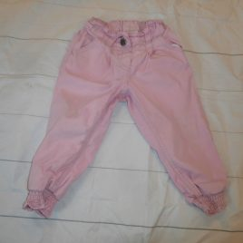 Next pink trousers 12-18 months