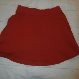 Red skirt 4 years