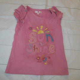 Pink 'Sun shine' t-shirt 4-5 years