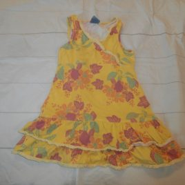 Pumpkin Patch yellow flowers dress 5 years