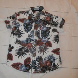 Hawaiian short sleeved shirt 2-3 years