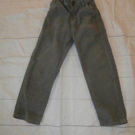 Grey cord trousers 4-5 years